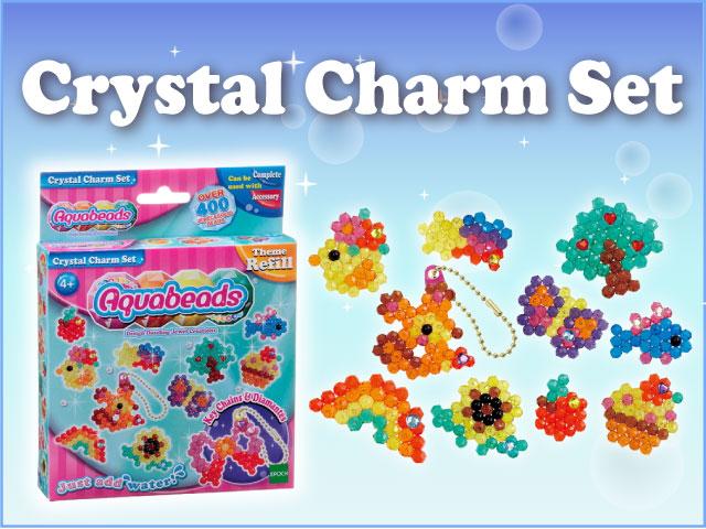 Crystal Charm Set