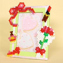 Photo frame  (Ribbon/ Carnation/ Cosmetic set/ Accessory set)
