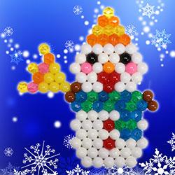 Bonhomme de neige festif