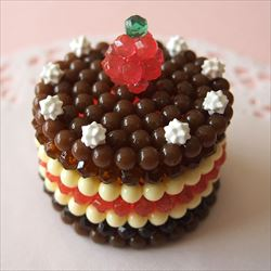 3D Chokladtårta (Ask)