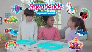 New Aquabeads Beginners Studio with New flip tray