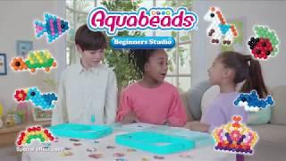 New Aquabeads Beginner Studio with New flip tray