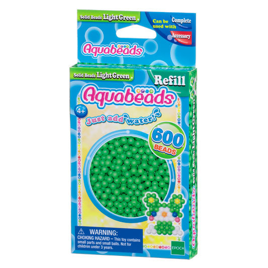 Light Green Solid  Bead Pack