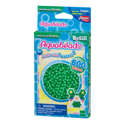 Green Solid  Bead Pack