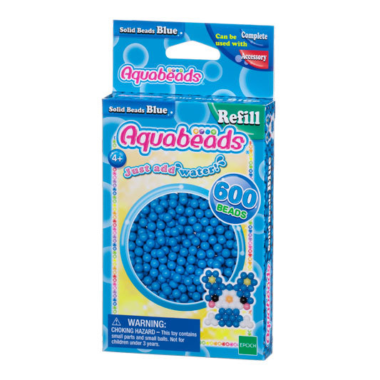 Blue Solid  Bead Pack