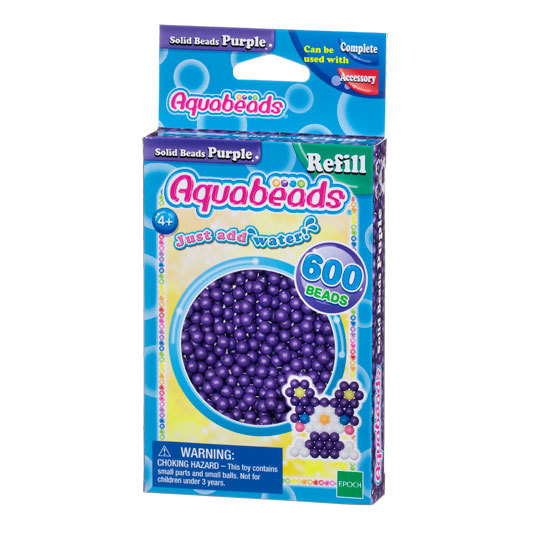 Purple Solid  Bead Pack