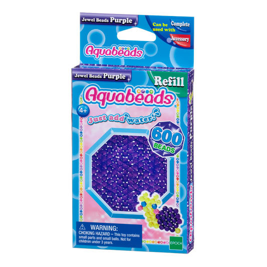 Purple Jewel Bead Pack