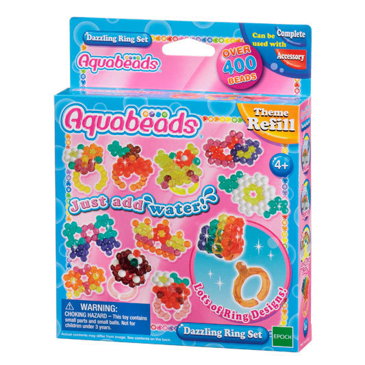 Aquabeads - Kit Anelli Scintillanti