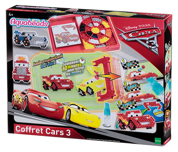 Le coffret Cars 3