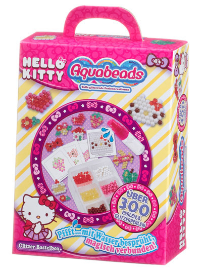 Hello Kitty Glitzer Bastelbox