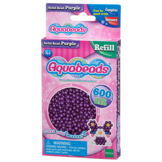 Purple Solid  Bead Pack (pink)