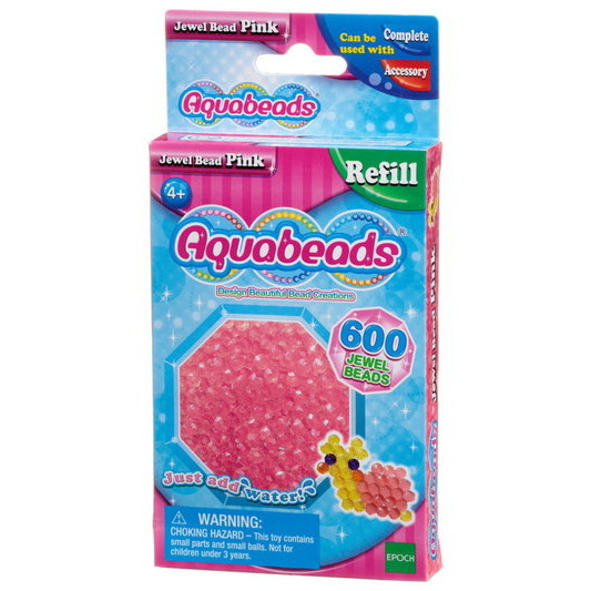 Pink Jewel Bead Pack (pink)