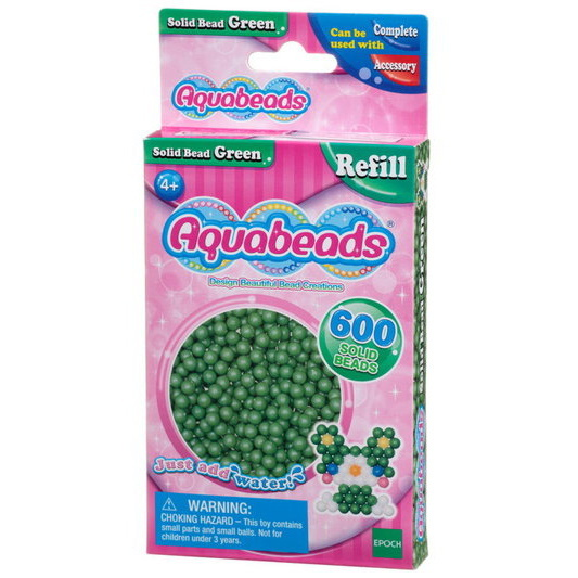Green Solid  Bead Pack (pink)