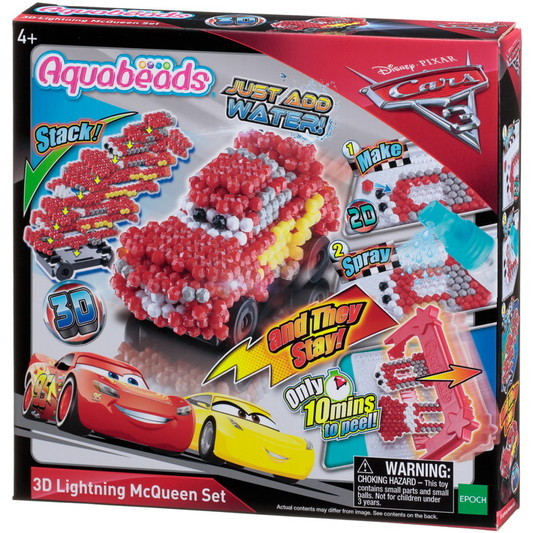 Cars 3 3D Lightning McQueen Set