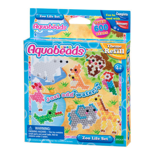 Aquabeads - Kit Animali dello Zoo