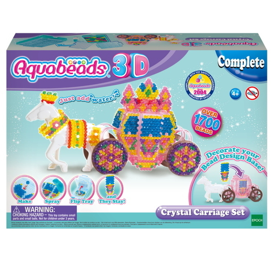 3D Crystal Carriage Set