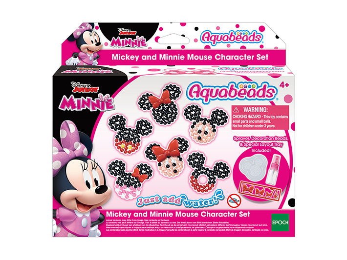 Mickey and Minnie Mouse Character Set