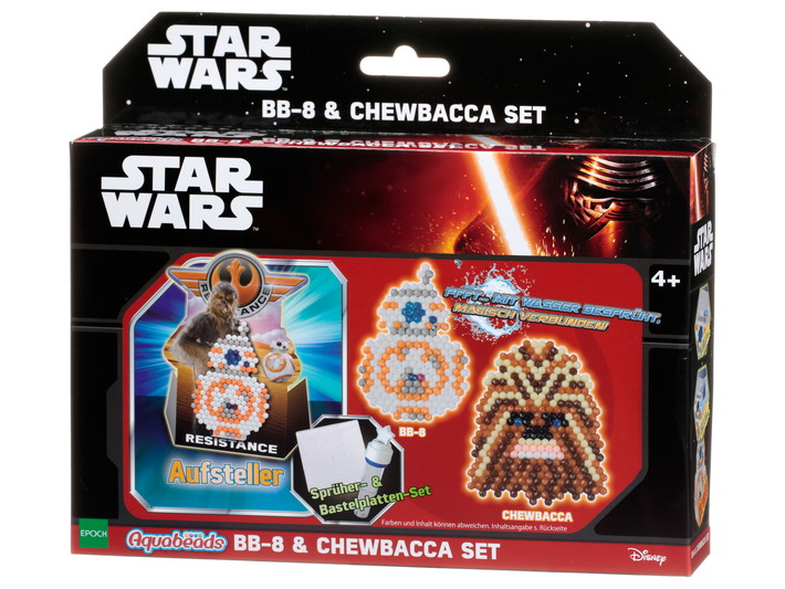 Star Wars BB-8 & Chewbacca set