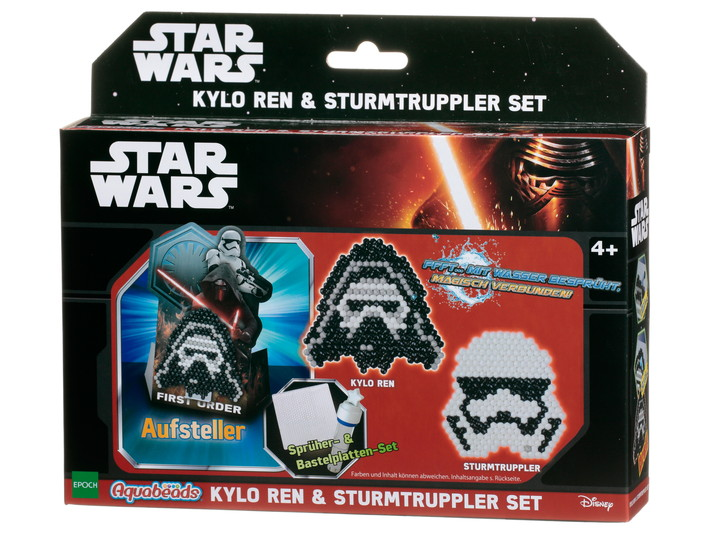 Star Wars Kylo Ren & Stormsoldat-set