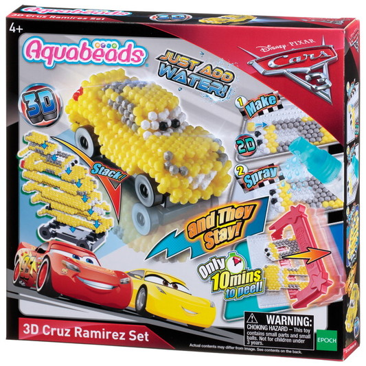 Cars 3 3D Cruz Ramirez Set
