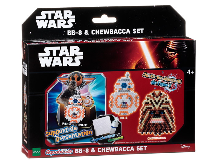 KIT STAR WARS - BB-8 & CHEWBACCA
