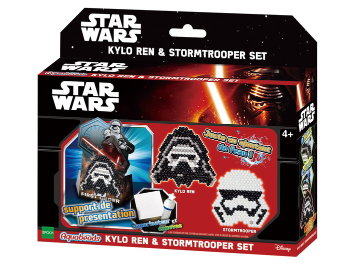 KIT STAR WARS -  KYLO REN & STORMTROOPER