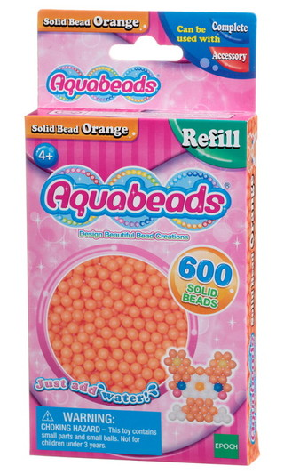 Orange Perlen