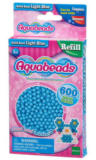 Hell-Blaue Perlen