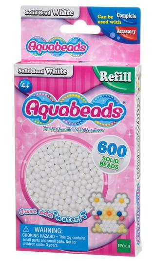 Weiße Perlen