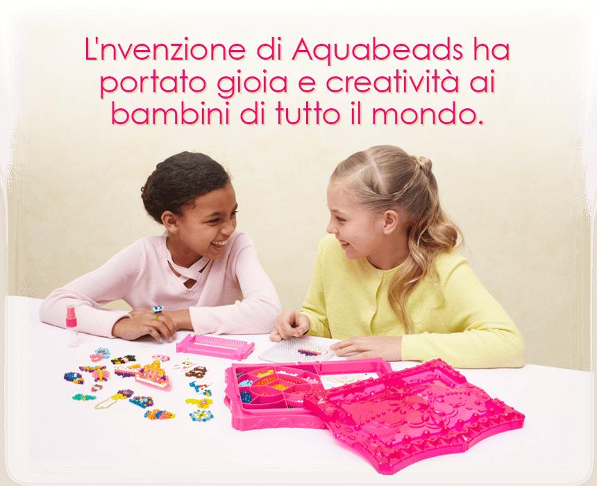 L'nvenzione di Aquabeads ha portato gioia e creatività ai bambini di tutto il mondo.
