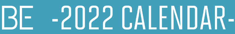 2022 Calender