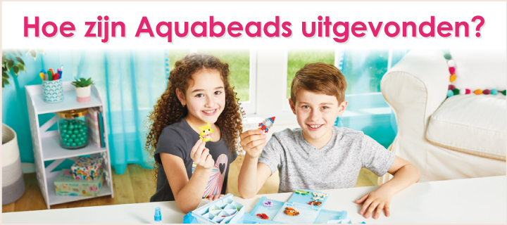 Hoe zijn Aquabeads uitgevonden?